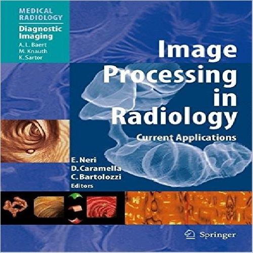 كتاب Image Processing in Radiology: Current Applications زبان اصلي